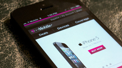 T-Mobile hops on the iPhone 5c/5s bandwagon
