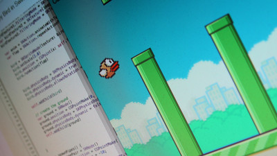 Flappy Bird written in Swift
