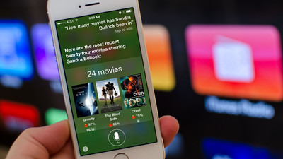 How to get information about a movie, director, or actor with Siri