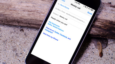 How to create HTML email signatures on your iPhone and iPad