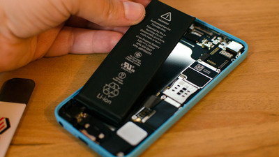 How to replace the battery in an iPhone 5c