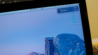 How to make and take phone calls in OS X Yosemite