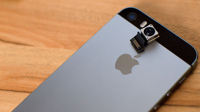 How to replace the rear iSight camera in an iPhone 5s