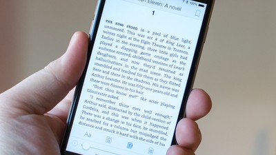 Amazon's Kindle app gets a new font and better layouts for easier reading