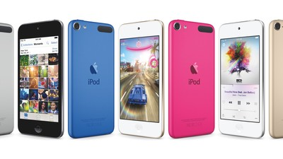 The iPod touch gets processor, camera, and storage bumps, new colors