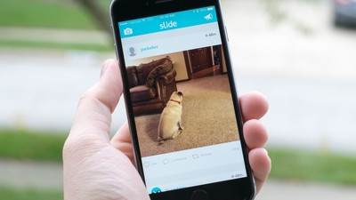 Slide uses iBeacons for a more private photo sharing experience