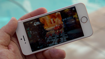 Gaming on the iPhone SE