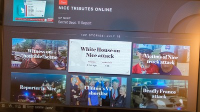 CBS News for Apple TV puts its focus on live video