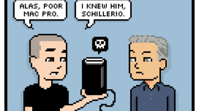 alas, poor mac pro. i knew him, schillerio.
