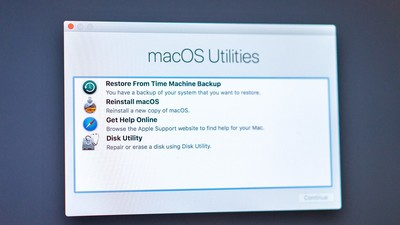 How to use macOS Recovery to restore the operating system on your Mac