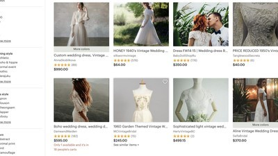 How to get the perfect vintage wedding dress for less