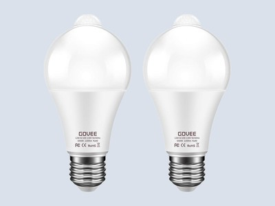 Light up your home with two motion-sensing bulbs on sale for just $10