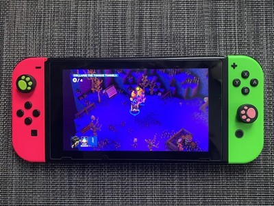 Blast and slash your way through the colorful Riverbond on Nintendo Switch