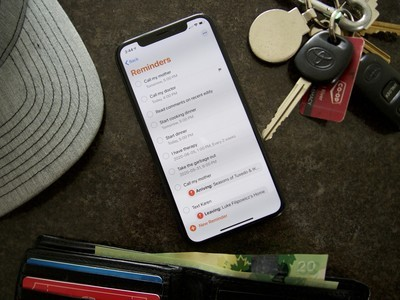 Reminders have a ton of customization options to keep your tasks organized