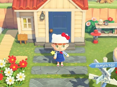 Here are all the Sanrio items coming to Animal Crossing next month!