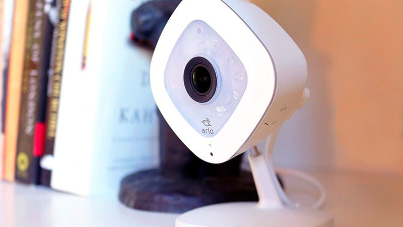 Score a two-pack of Arlo Q security cameras and save nearly 30% right now