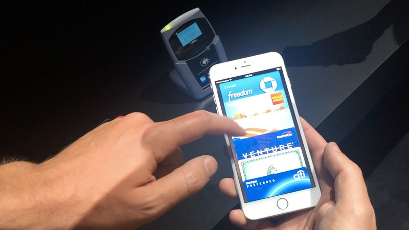 NFC, barcode scan, on online purchases!