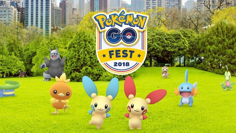 Pokémon GO Fest 2018 tickets now on sale!