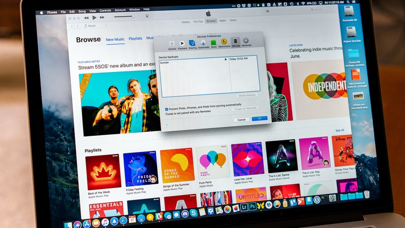 How to delete iOS backups in iTunes