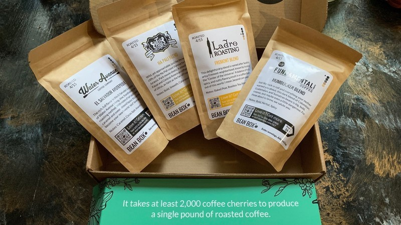 Bean Box Gourmet Coffee Sampler Subscription Box review: Fun and delicious