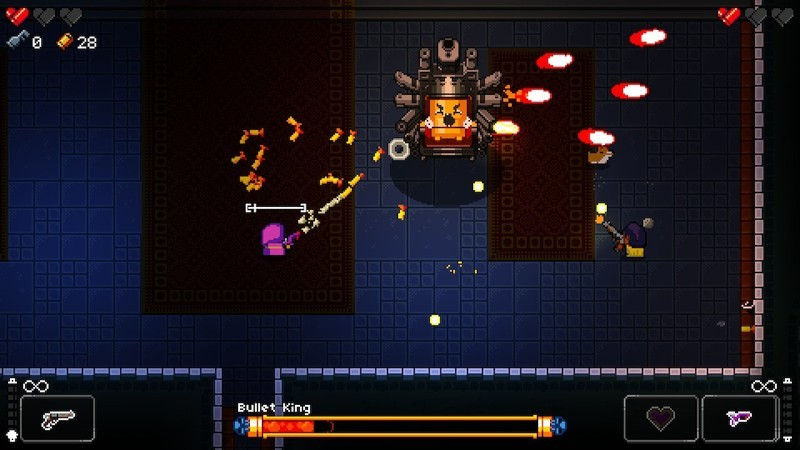Enter the Gungeon is a hilarious challenge game