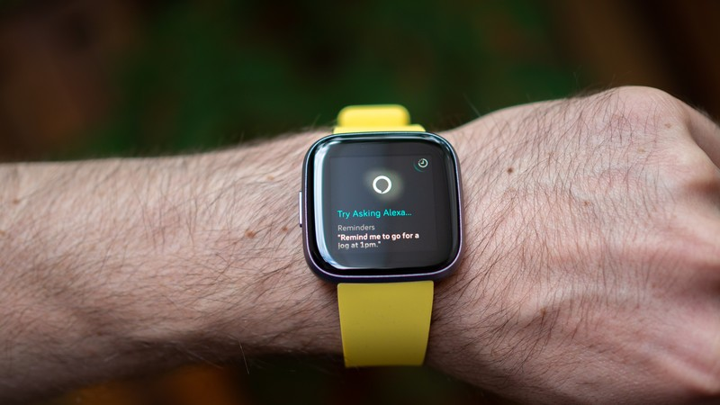 It's easy to use Alexa on the Fitbit Versa 2!