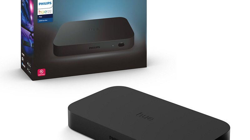 Philips Hue Play HDMI Sync Box updated with Siri support, HDR10+ and more