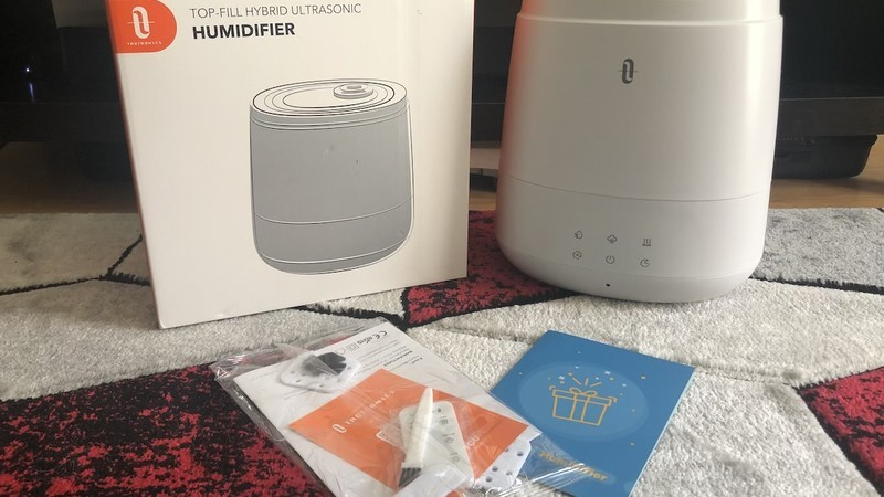 Review: Breathe with the TaoTronics Top-Fill Hybrid Ultrasonic Humidifier