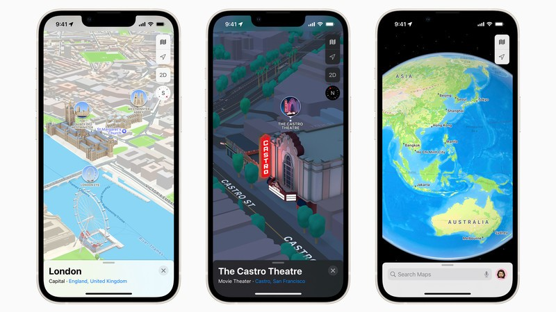 Improved Apple Maps rolling out in Australia