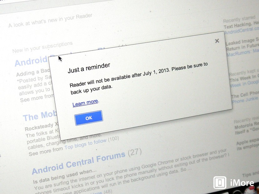 Looking for life after Google Reader? Here's what you need