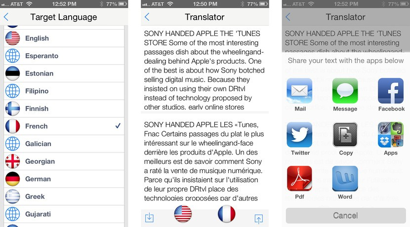 Best translation apps for iPhone: iTranslate Voice, iVoice