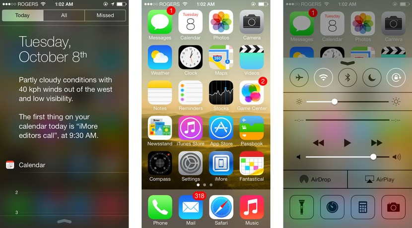5 amazing iOS 7 gestures: How to get more done faster!   iMore