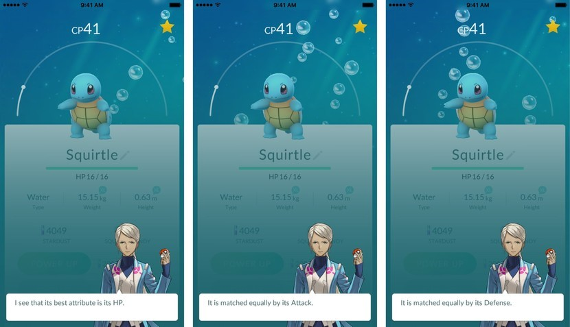 How to check your Pokémon's stats with the new Appraise