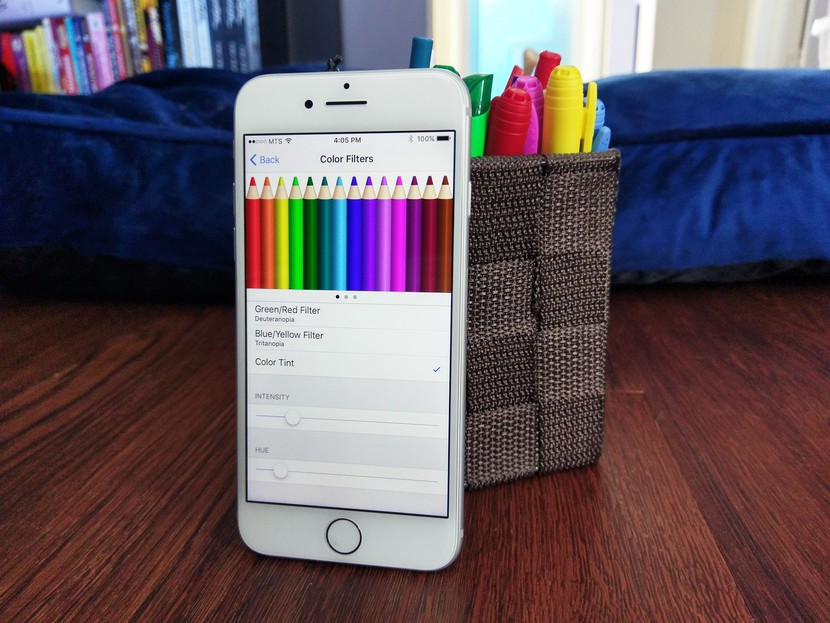 How to use Display Accommodations and Color Filters on