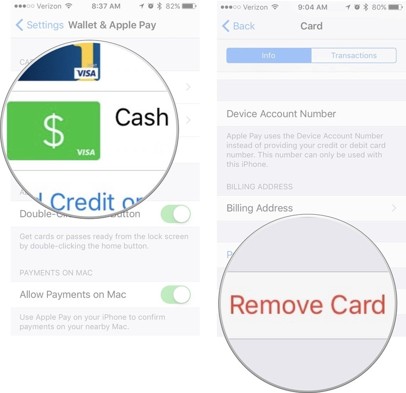 How to add your Square Cash account to Apple Pay | iMore