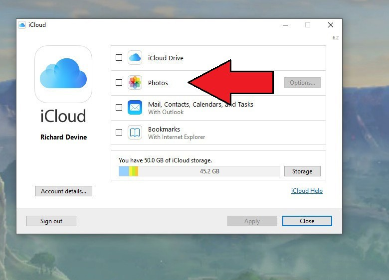 How to set up and use iCloud Photo Library on a Windows PC