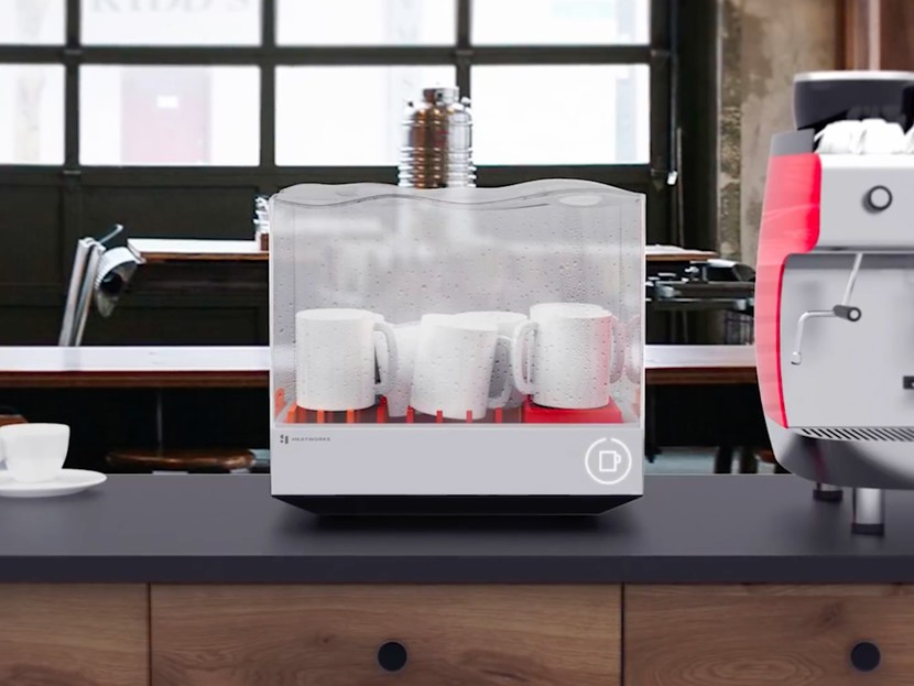 This smart dishwasher is compact enough for the even the ...