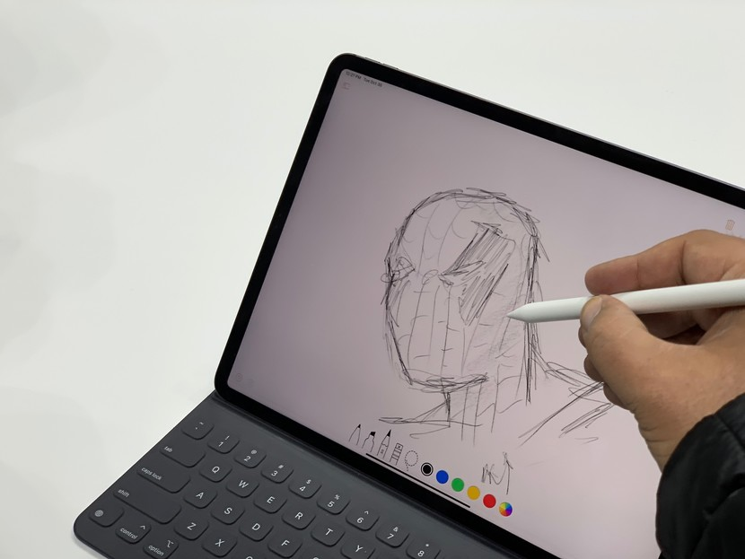 How to learn to draw with iPad and Apple Pencil