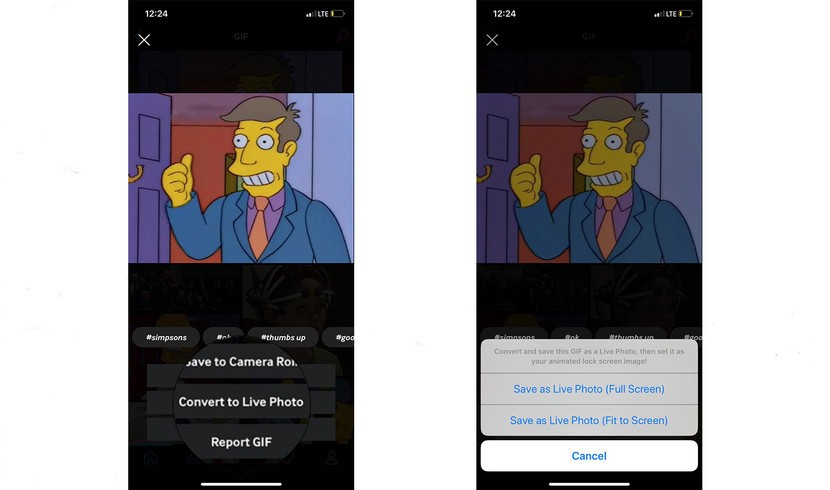 How To Use Giphy To Turn Gifs Into Live Photos Imore