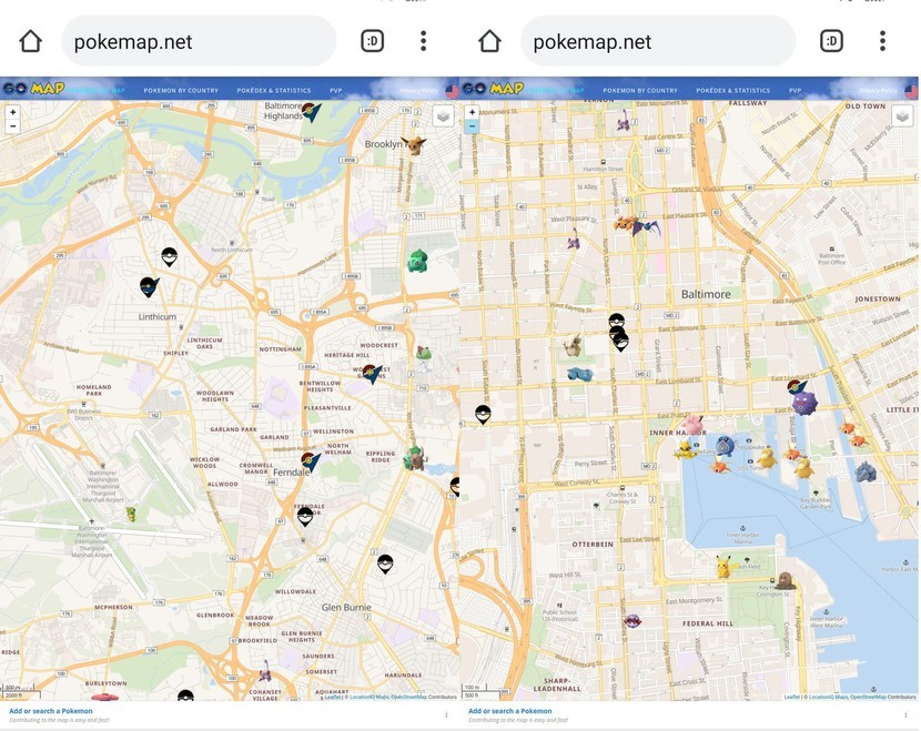 Pokémon Go Map Trackers that still work | iMore