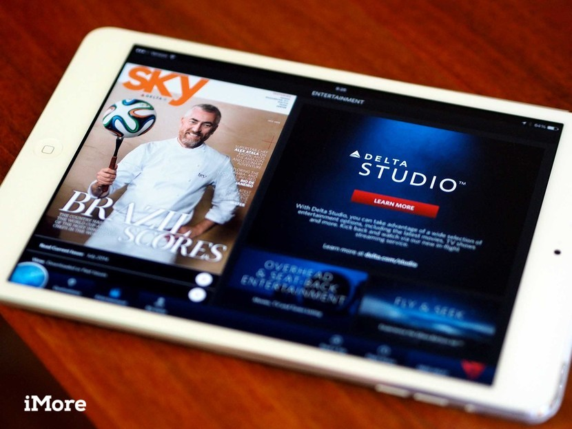 Stream movies and TV at 30,000 feet with Fly Delta for
