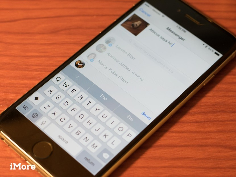Facebook Messenger adds quick and easy sharing with new