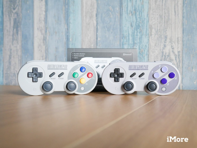These new 8bitdo wireless gamepads give retro feels to your