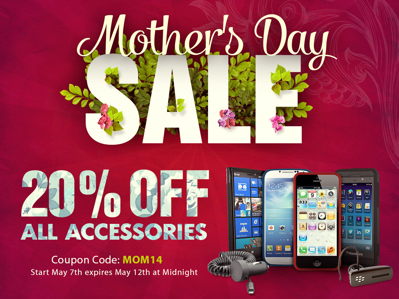 ShopAndroid.com Mother's Day Sale