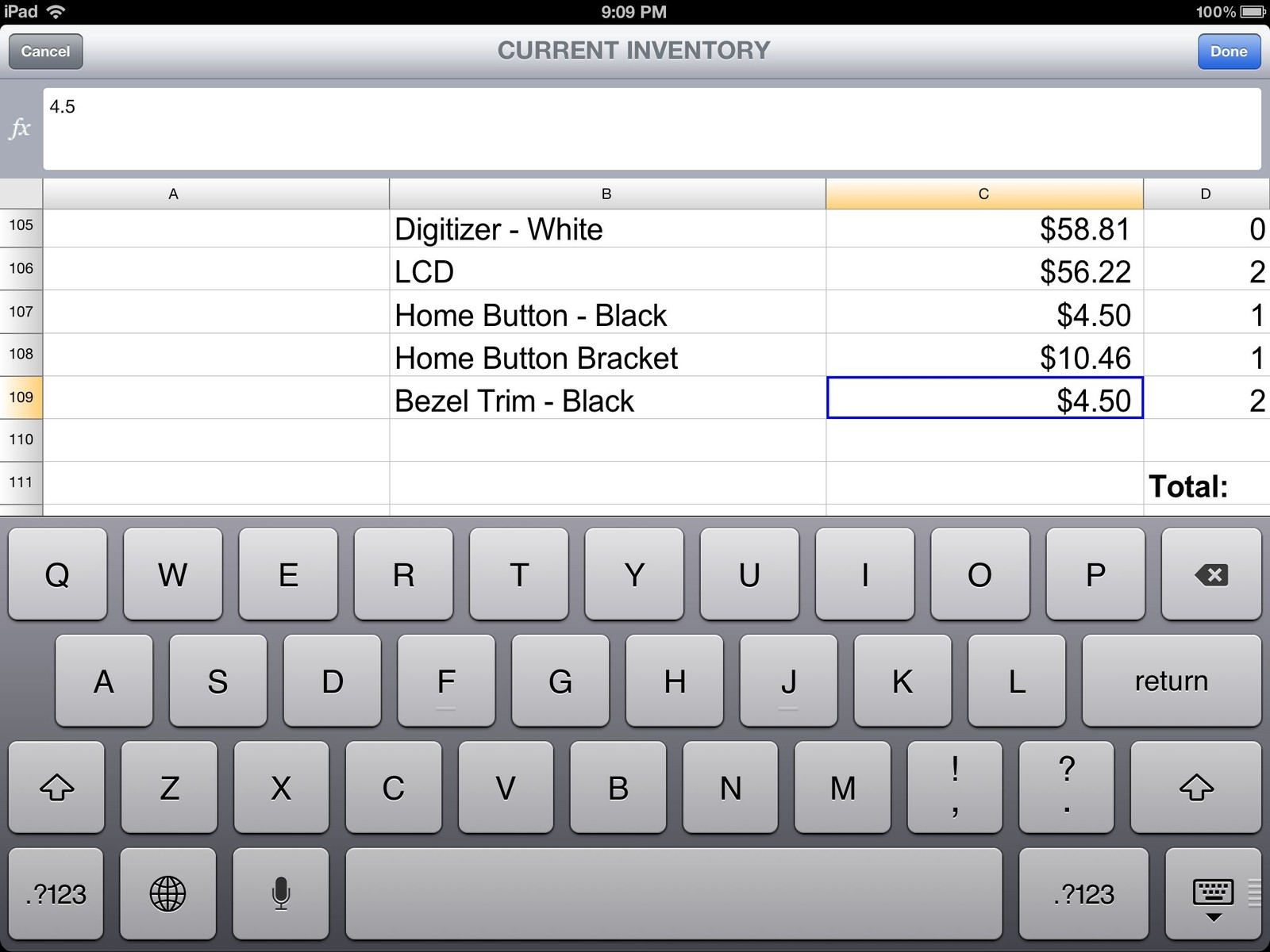 iWork vs. Documents To Go vs. Quickoffice Pro HD: Mobile office ...