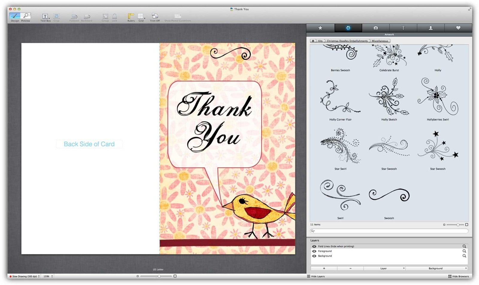 Printlife Mac Print Project App Adds New Greeting Card Features Imore