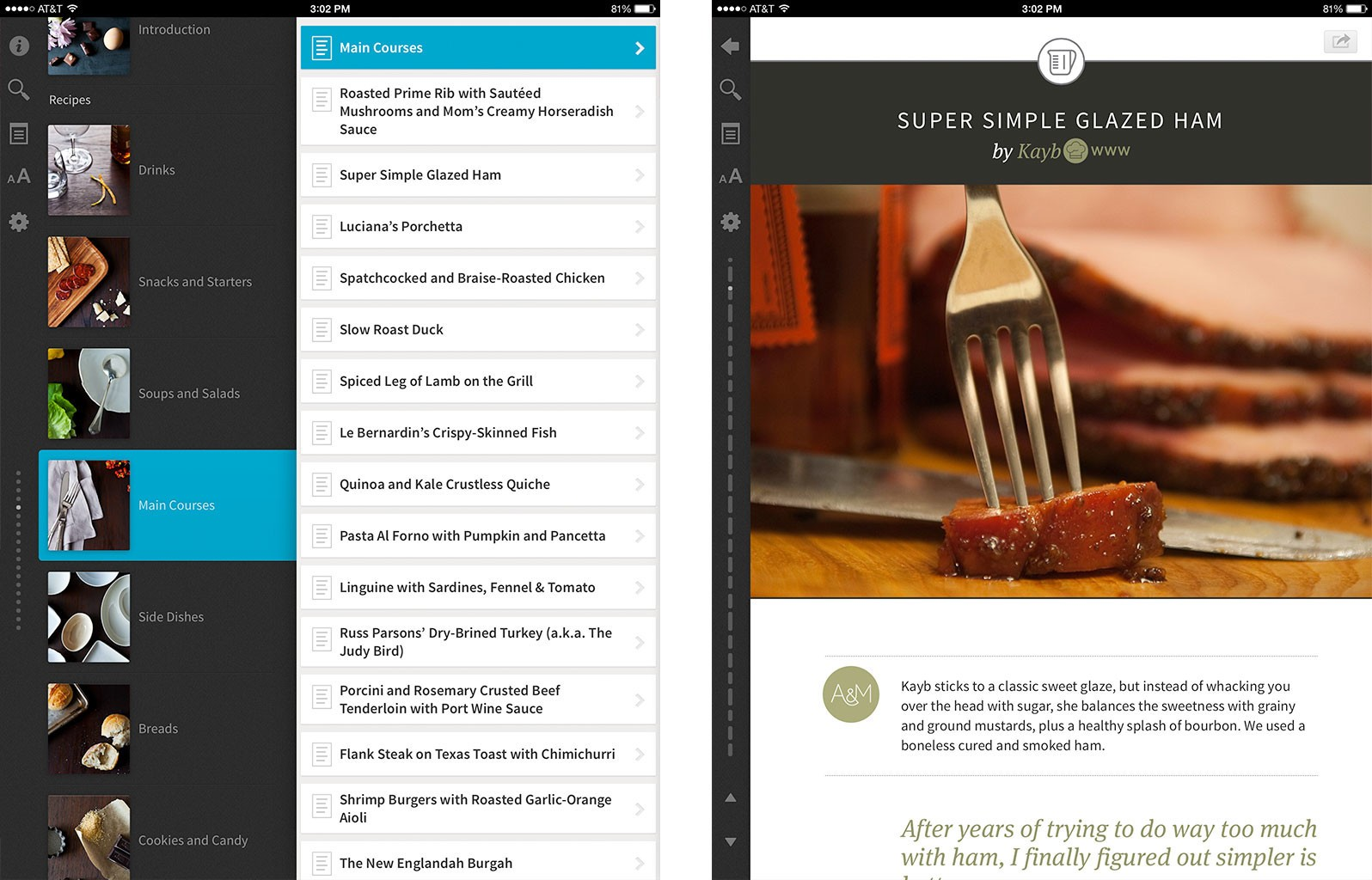 Best recipe and cooking apps for ipad zest evernote food food52 best recipe and cooking apps for ipad food52 forumfinder Image collections