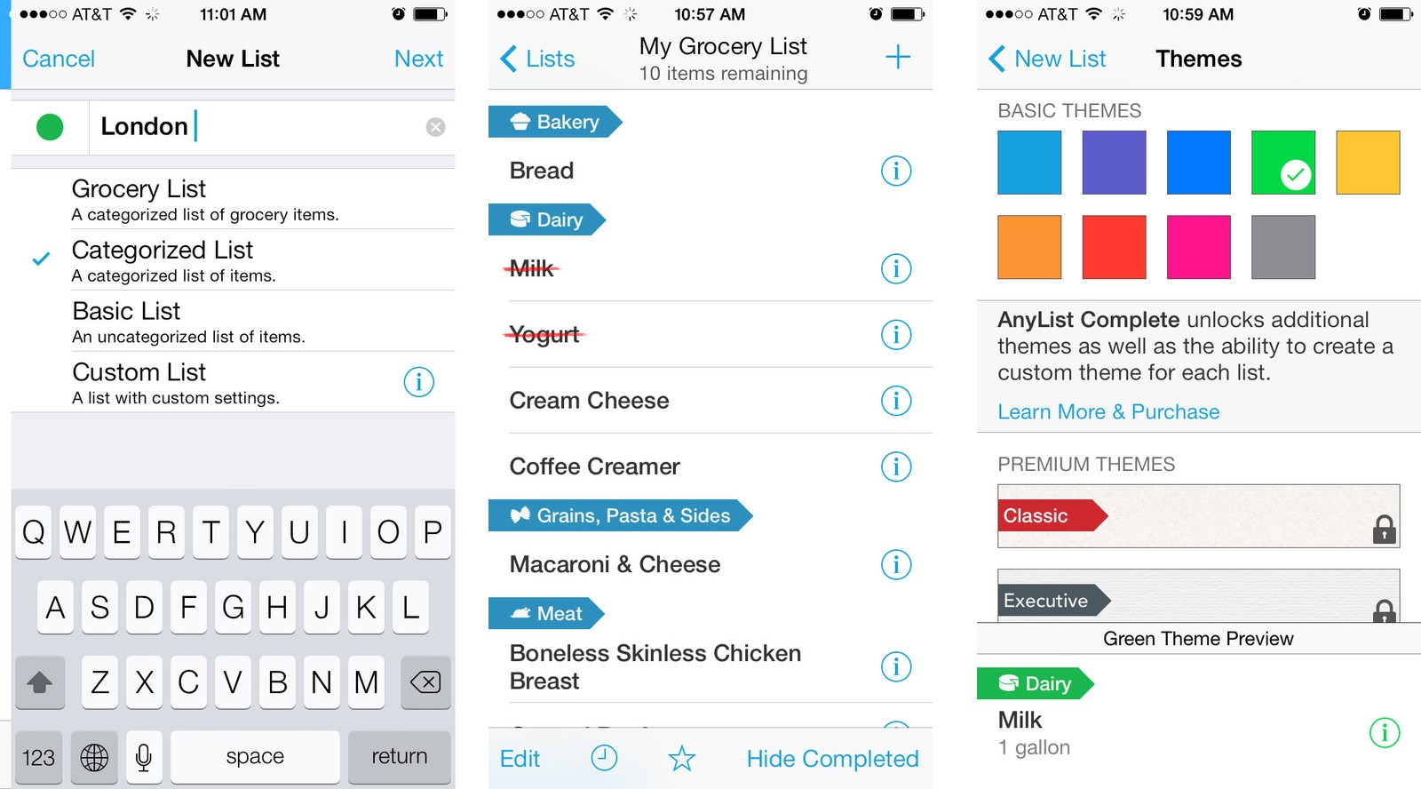 best shopping and grocery list apps for iphone pushpins anylist