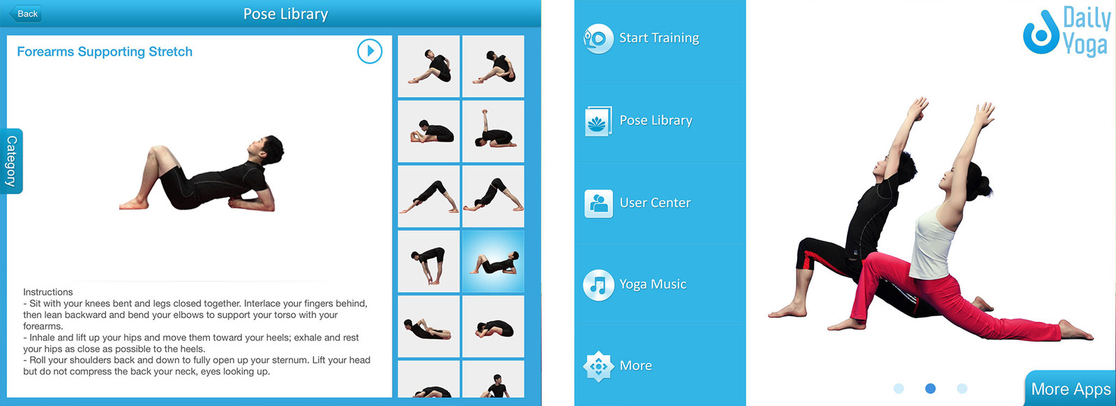 Best yoga apps for iPad: Daily Yoga