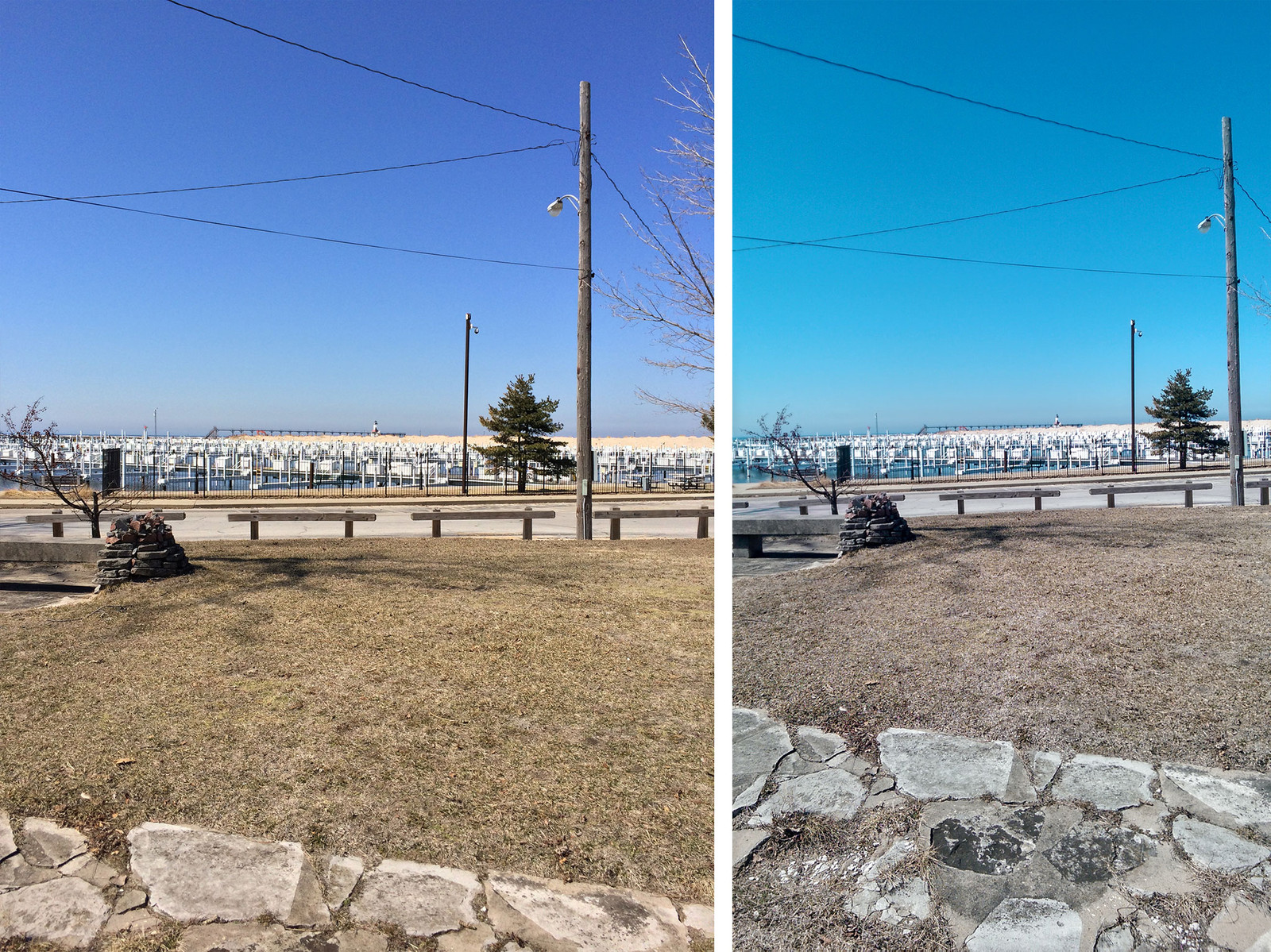 HTC One M8 vs. iPhone 5s: HDR